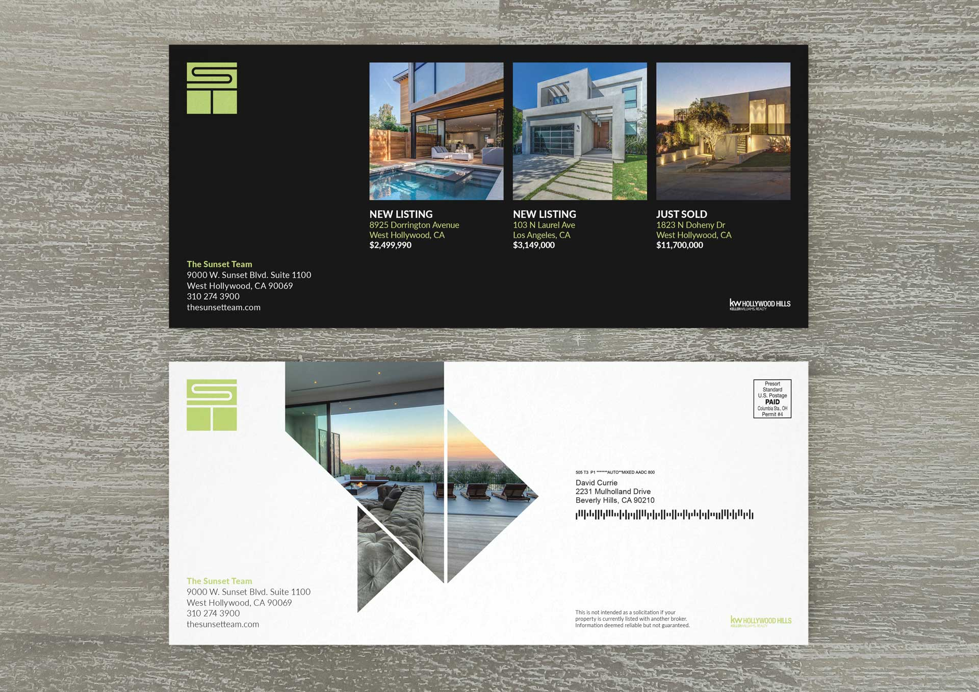 sunset-team-real-estate-flyer